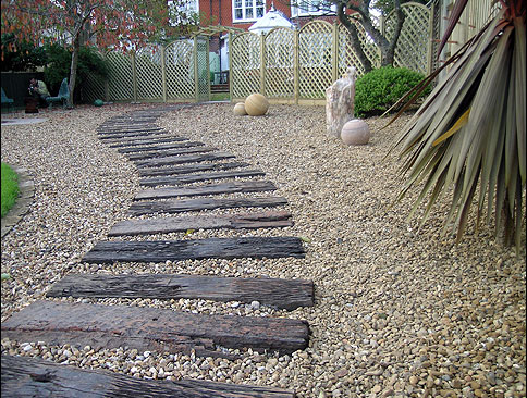 Garden Decking Path Ideas
